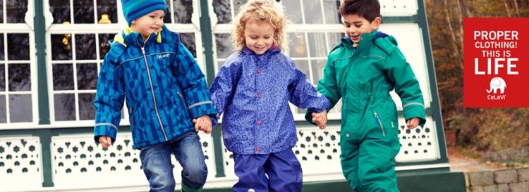 CeLaVi Haine pentru copii de ploaie, vant si zapada