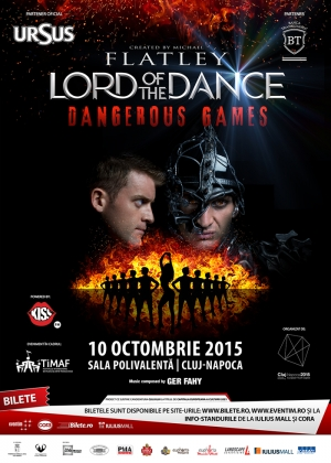 AMR 3 zile pana la spectacolul LORD OF THE DANCE- DANGEROUS GAMES