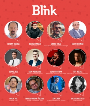 BLINK – The Youth Conference are loc intre 20 - 22 noiembrie la Cluj-Napoca