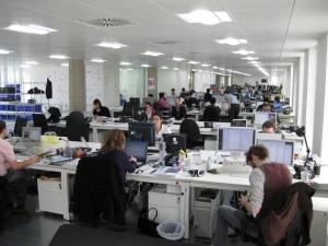 Spatiile de birouri sunt tot mai cautate in Cluj din cauza numarului mare de studenti