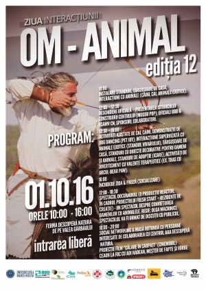 1 octombrie - Ziua Interactiunii Om-Animal, organizata la UBB