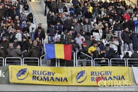 Rugby Romania - Portugalia pe Cluj Arena in imagini