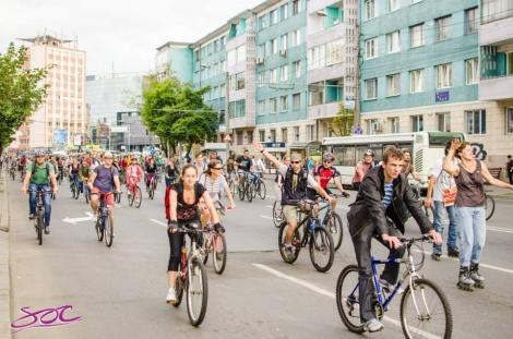 Marsul Biciclistilor Clujeni va avea loc joi, 16 aprilie