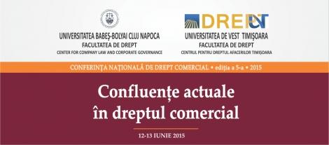 Facultatea de Drept organizeaza Conferinta Nationala de Drept Comercial