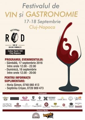 Festivalului de Vin si Gastronomie are loc in acest week-end
