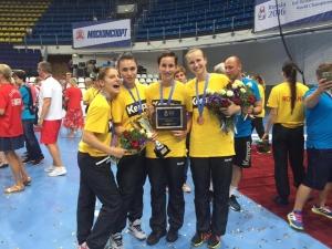 Studenta UBB - cea mai buna marcatoare a echipei nationale de handbal