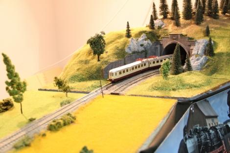 Expozitie de trenuri in miniatura la Gara Cluj-Napoca