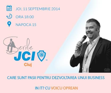 Descopera secretele dezvoltarii unui business in IT in zilele noastre cu Voicu Oprean@ 11 septembrie Napoca 15