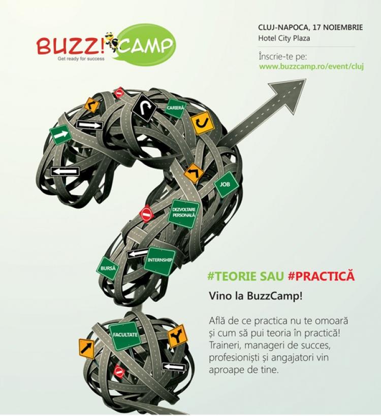 BUZZ!Camp, la a doua generatie de studenti @ 17 noiembrie Cluj Napoca