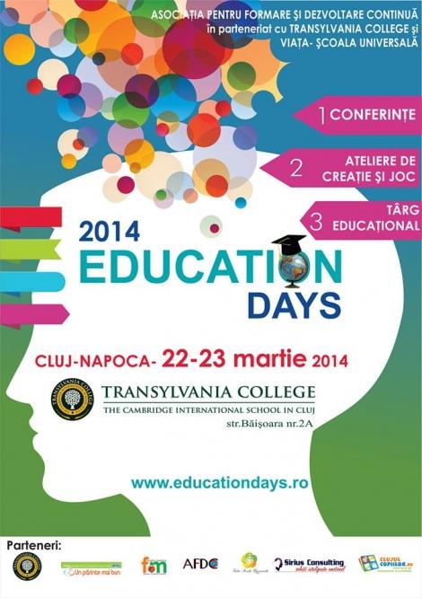 18 speakeri de succes la Education Days @ 22-23 martie Transylvania College