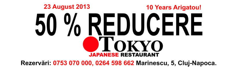 Tokyo Japanese Restaurant - campuscluj