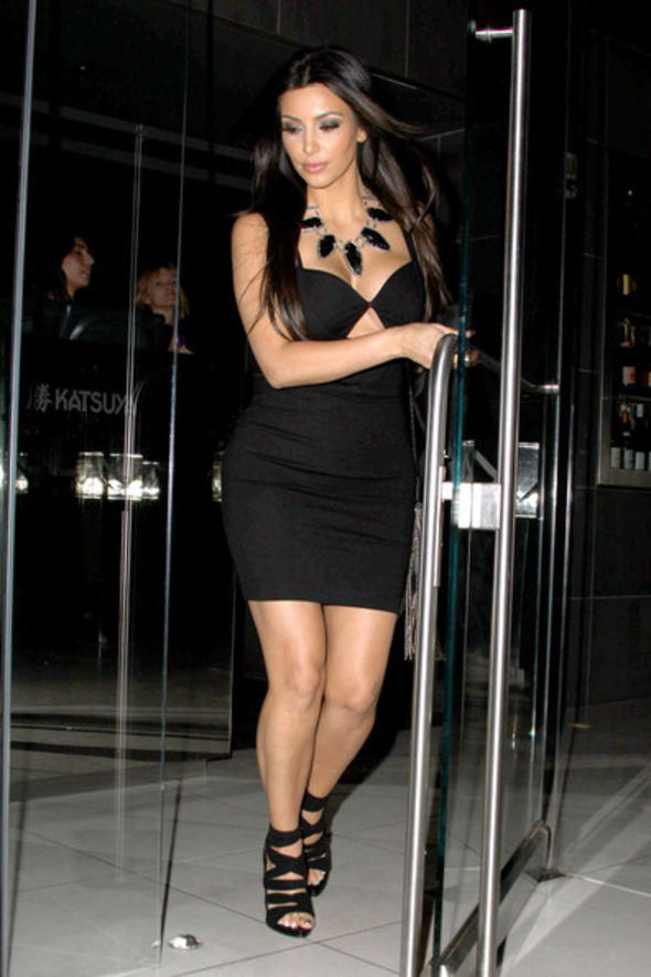 Kim-Kardashian-Cutout-Dress
