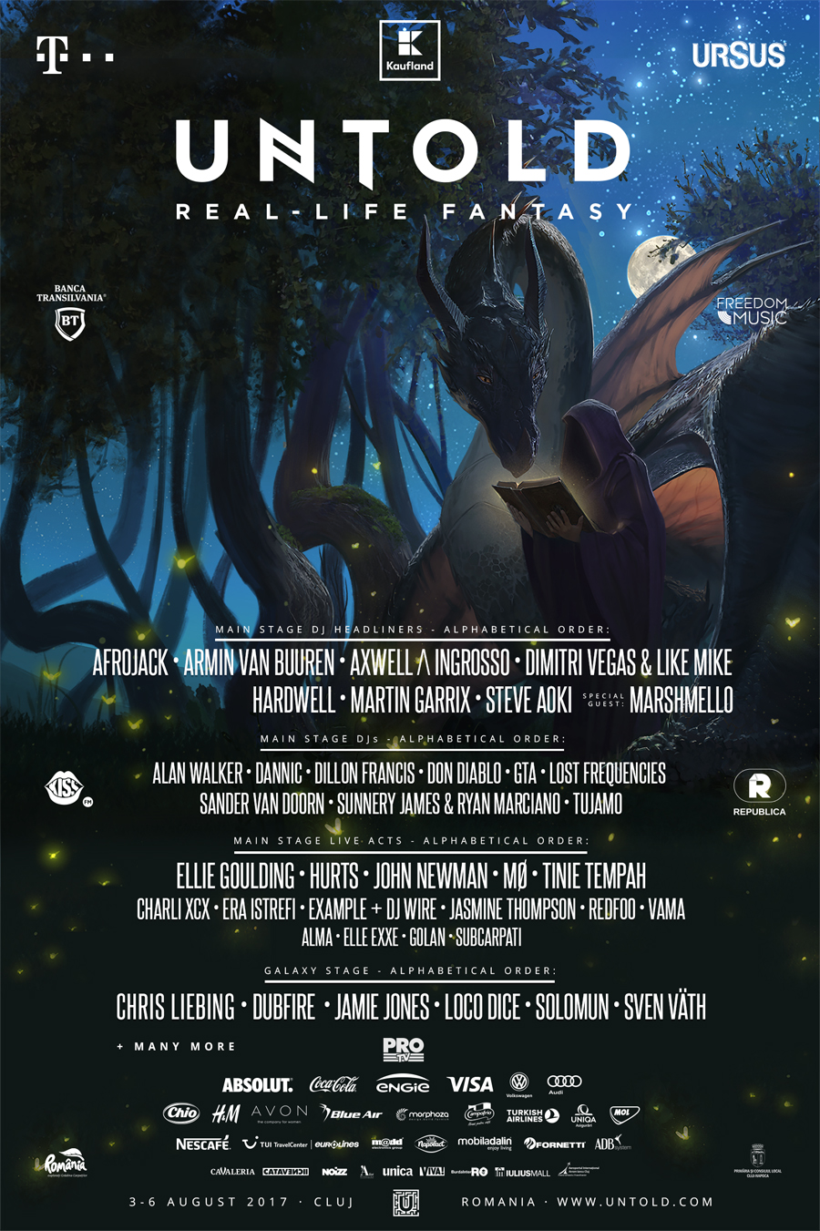 untold 2017 full lineup