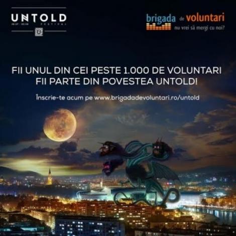 UNTOLD Festival cauta peste 1.000 de voluntari