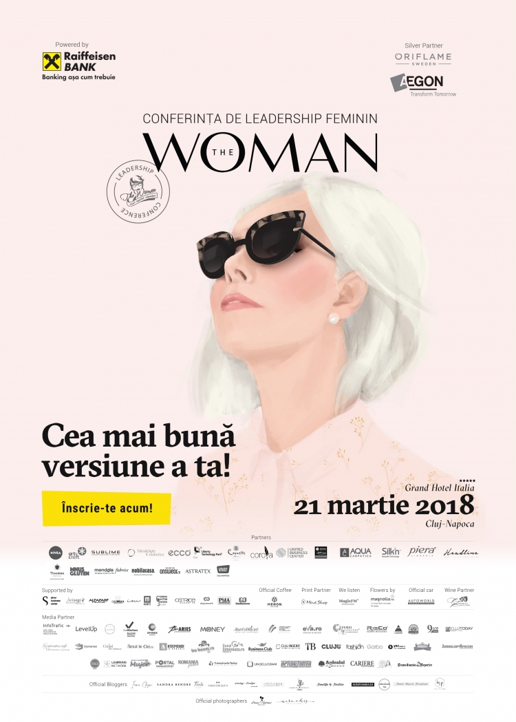 Importanta leadershipului feminin la conferinta The Woman