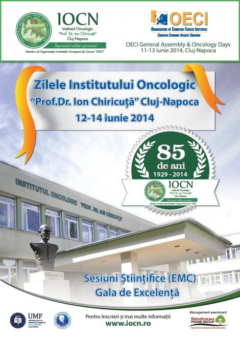 "[iunie 2014] Cluj-Napoca - ""Capitala europeana a oncologiei"""