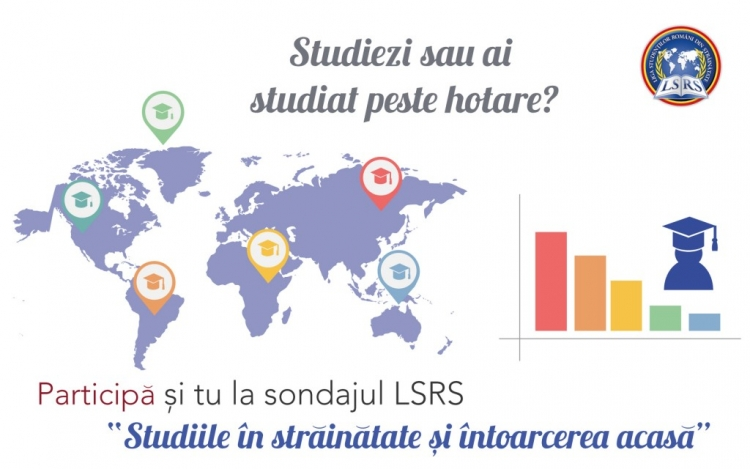 """Participa si tu la sondajul """"Studiile în străinătate şi întoarcerea acasă"""""""