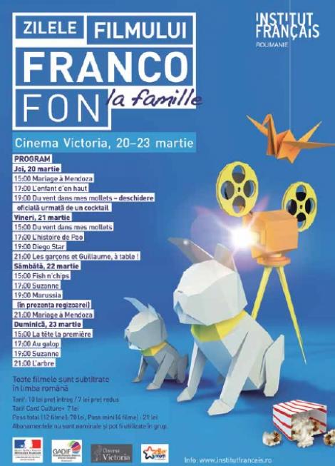 Au inceput zilele filmului francofon la Cinema Victoria