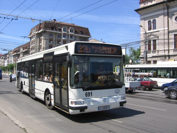 Noi linii ale transportului public in comun la Cluj din septembrie