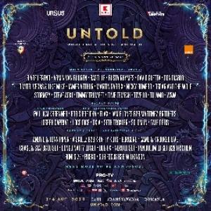 3 are Legend, Busta Rhymes, Don Diablo, Nicky Romero, Steve Aoki, Tinie Tempah, Tove Lo si Tujamo se alatura line-up-ului UNTOLD 2019