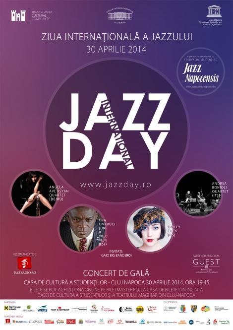 Ziua Internationala a Jazzului @ 30 aprilie Casa de Cultura a Studentilor Cluj