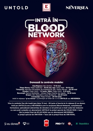 BLOOD NETWORK revine cu bilete gratuite la UNTOLD si NEVERSEA!