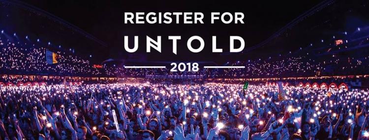 UNTOLD capitolul 4 va avea loc in perioada 2-5 august 2018