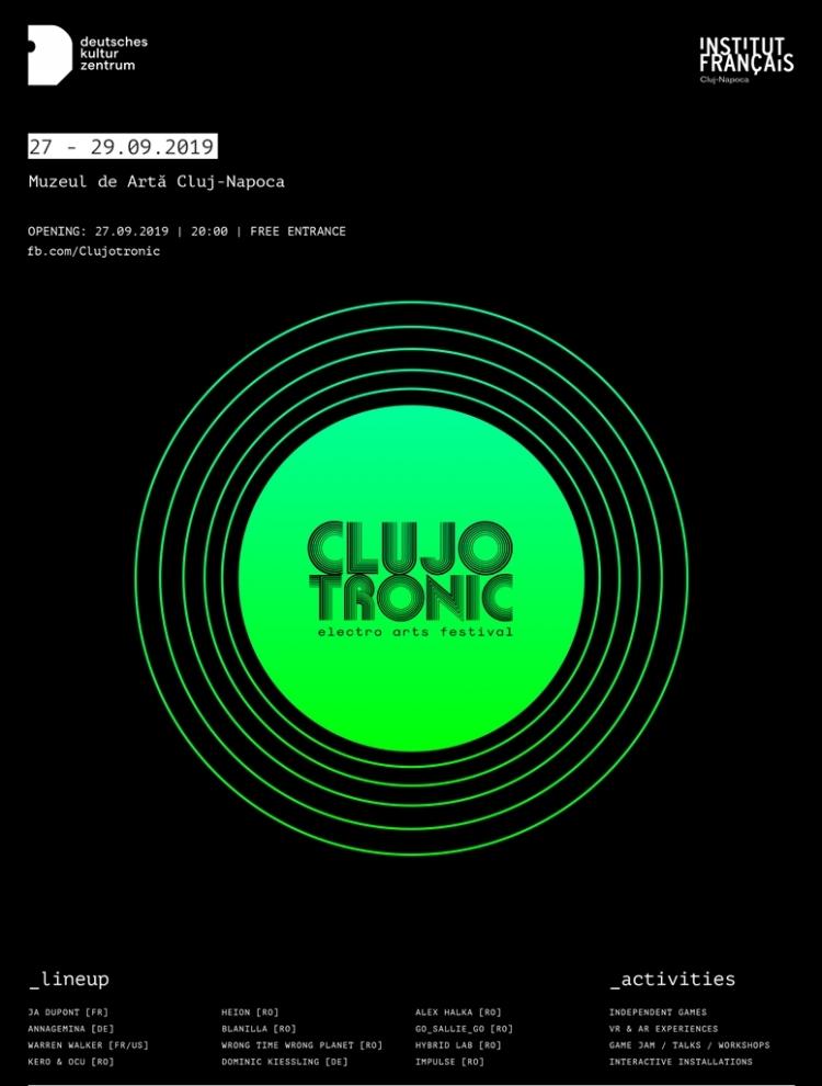 Clujotronic aduce la Cluj o serie de evenimente pentru toti pasionatii de lumea digitala