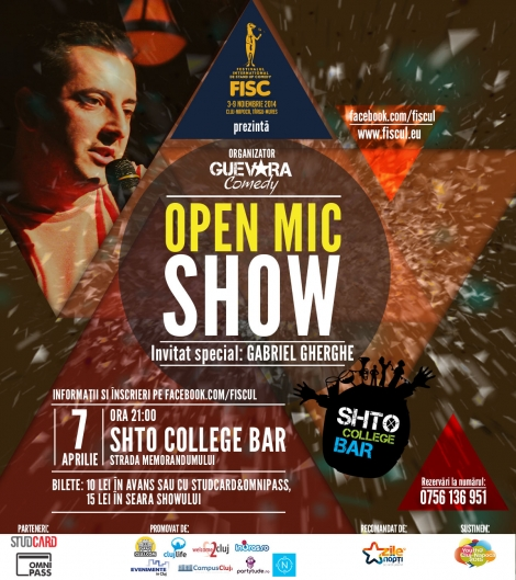 Open Mic Show editia 2 @ 7 aprilie Shto College Bar