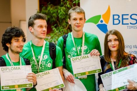 4 studenti clujeni vor reprezenta Romania in Riga la o competitie de inginerie