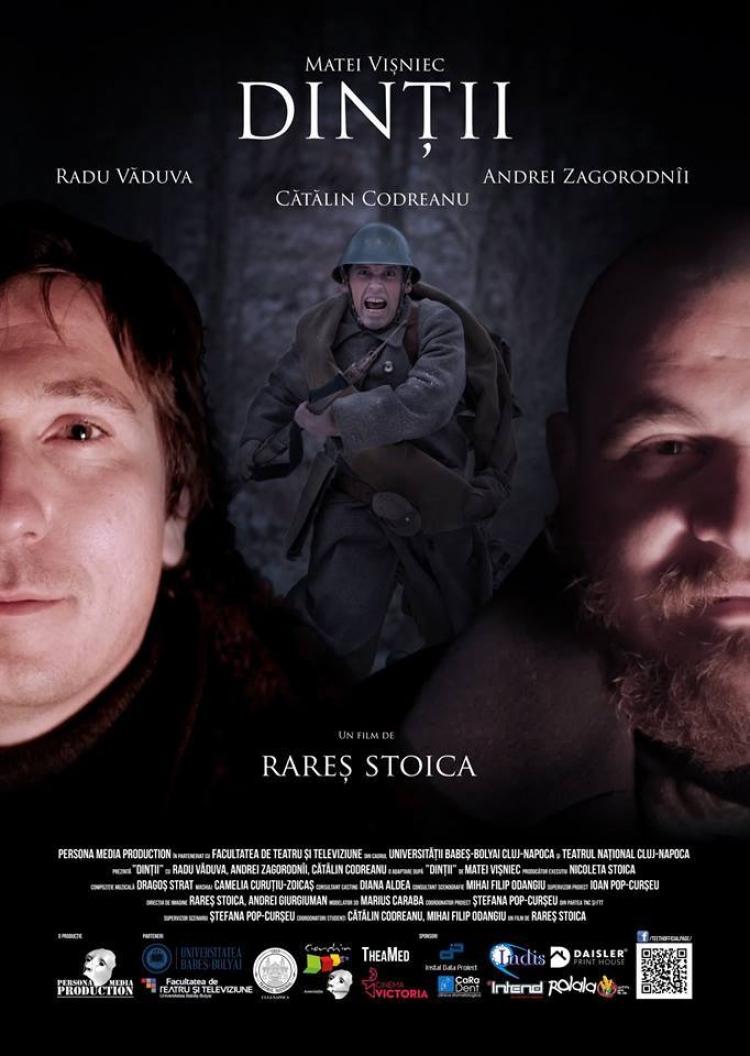 Avanpremiera filmului Dintii in regia lui Rares Stoica pe 7 octombrie ora 16 la Casa Tiff