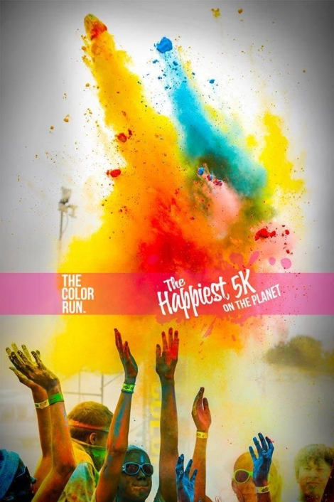 The Color Run™ este evenimentul la care albul devine curcubeu