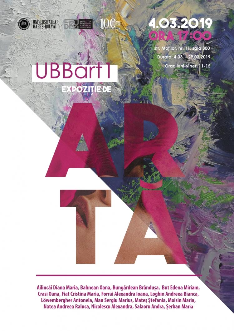 UBB da startul la o serie de expozitii de arta de neratat