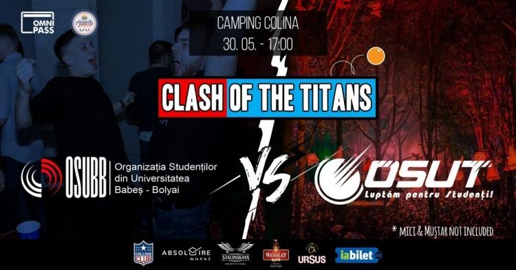 """Cele mai mari organizatii studentesti din Cluj se vor intrece in cadrul evenimentului """"Clash of The Titans"""""""