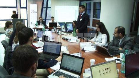 Studentii au simulat la Cluj activitatile Parlamentului European si ale ONU