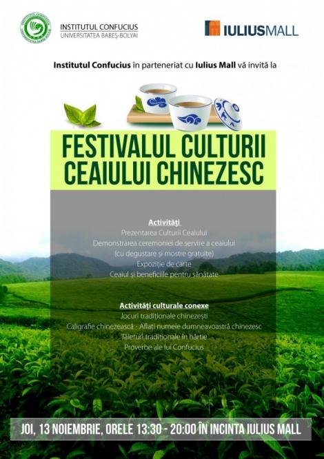 Festivalul Culturii Ceaiului Chinezesc gazduit de UBB si Iulius Mall