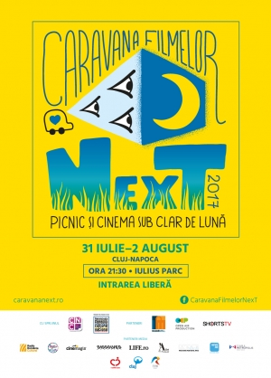3 seri de picnic si cinema sub clar de luna, in Parc Iulius Mall