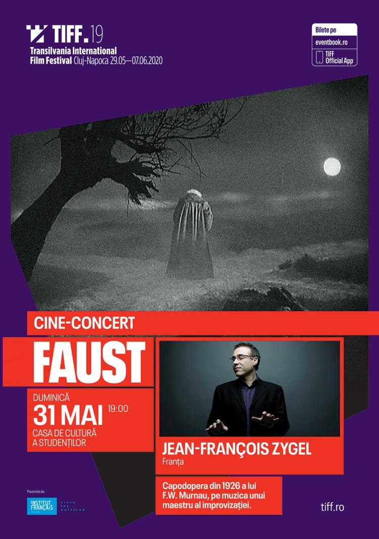 "Cine-concerte de exceptie la TIFF 2020: ""Faust"" si ""Malombra"""