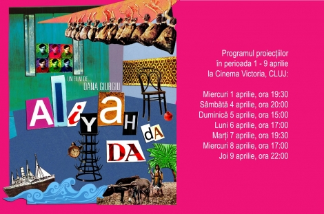 """Documentarul """"Aliyah DaDa"""", regizat de Oana Giurgiu, din 1 aprilie la Cinema Victoria din Cluj"""