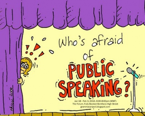 "Participa la concursul ""Speak Up!"" si poti castiga o invitatie la trainingul ""D.O.C.T.O.R. in public speaking"""
