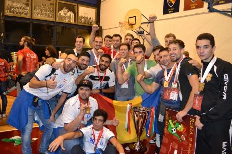 "UBB are sportivi campioni la fotbal si handbal la ,,EURO ROMA 2014"""
