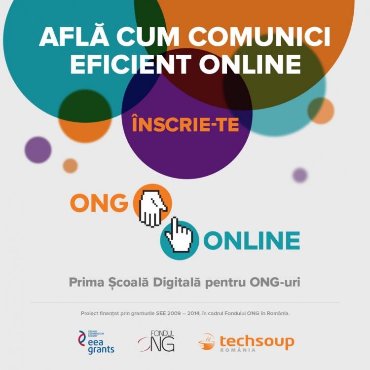 Va fi lansata prima Scoala Digitala pentru ONG-uri