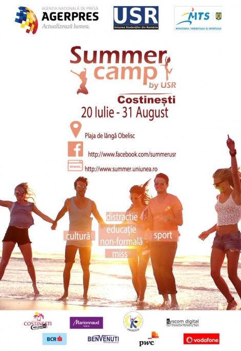 Distractia si sportul se muta la Costinesti vara asta