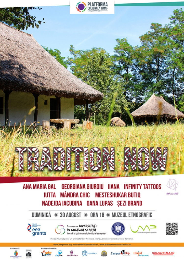 Tradition NOW – fashion show-ul care prezinta reintegrarea elementelor traditionale in contextul actual