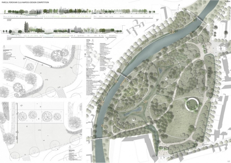 Parcul Feroviarilor din Cluj-Napoca va fi reamenajat - s-a anuntat si castigatorul concursului