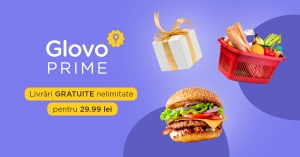 "Glovo lanseaza ""Prime"", serviciul cu livrari nelimitate"