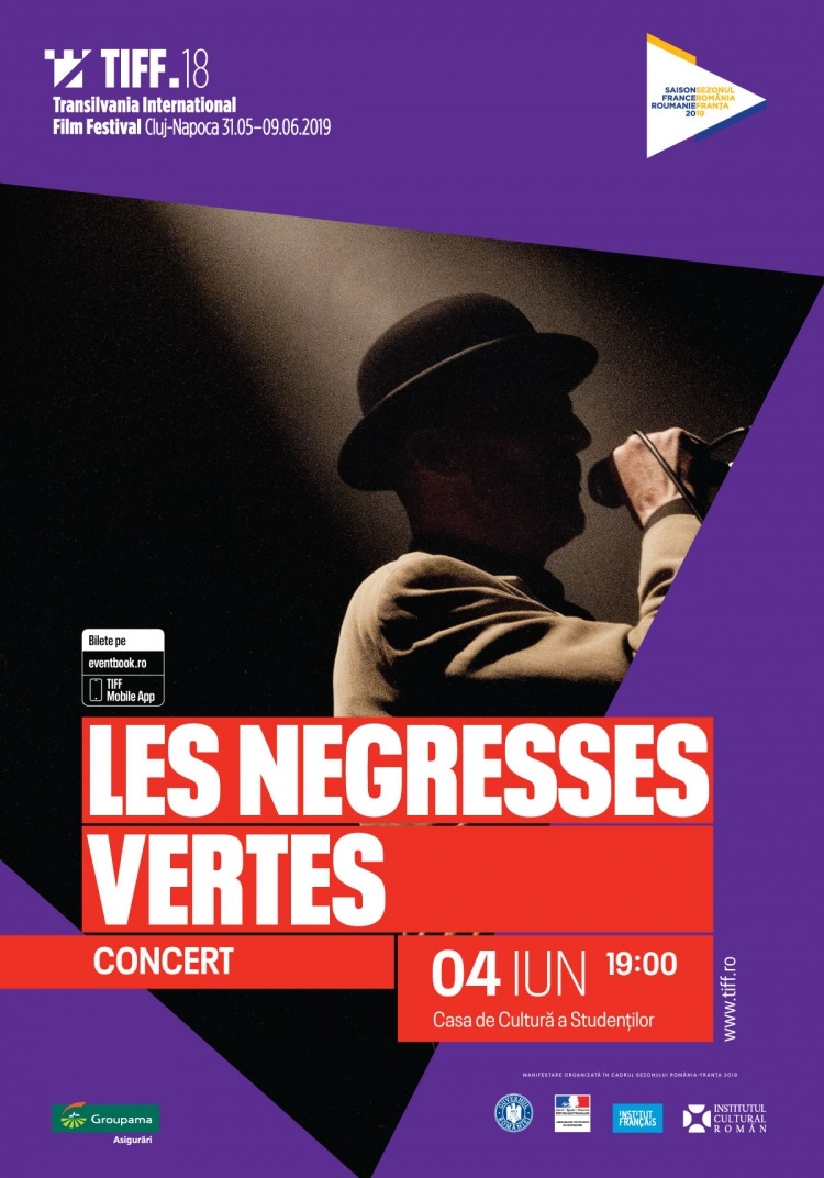 Premiere la TIFF 2019: compozitorul Jean-Michel Bernard și grupul Les Negresses Vertes, live, la Cluj