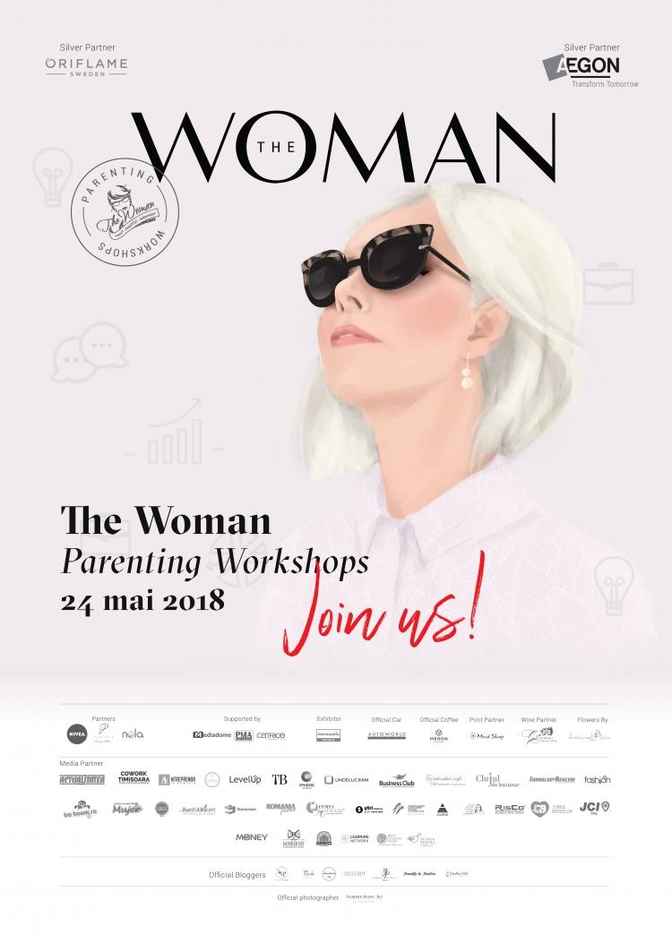 The Woman Parenting Workshops, pentru parinti interesati de educatie continua