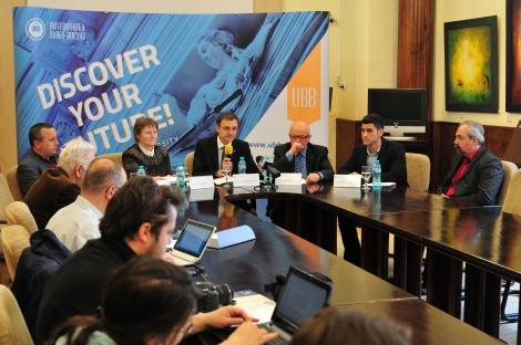 Peste 8.000 de locuri bugetate vor fi scoase la concurs de UBB