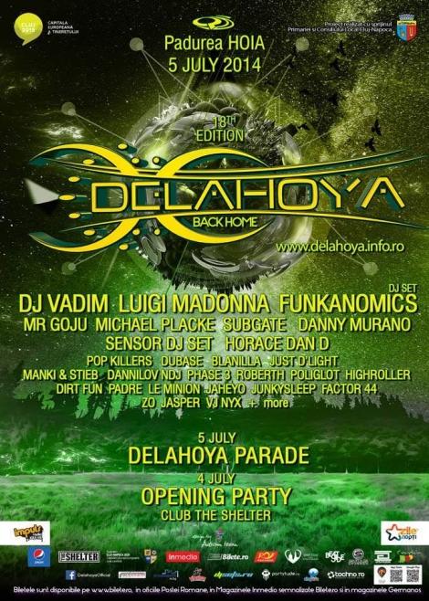 Festivalul Delahoya implineste varsta majoratului + line-up definitiv
